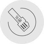 Vollautomatischer Schlüsselbund LEO Smartkey